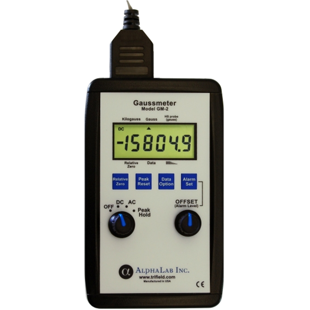 Image Of The Gaussmeter Model Gm2 From Alphalab Inc