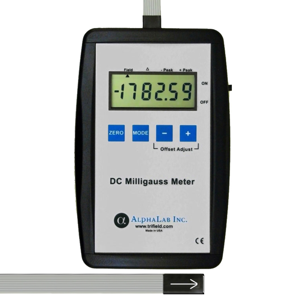 DC Milligauss Meter Model MGM